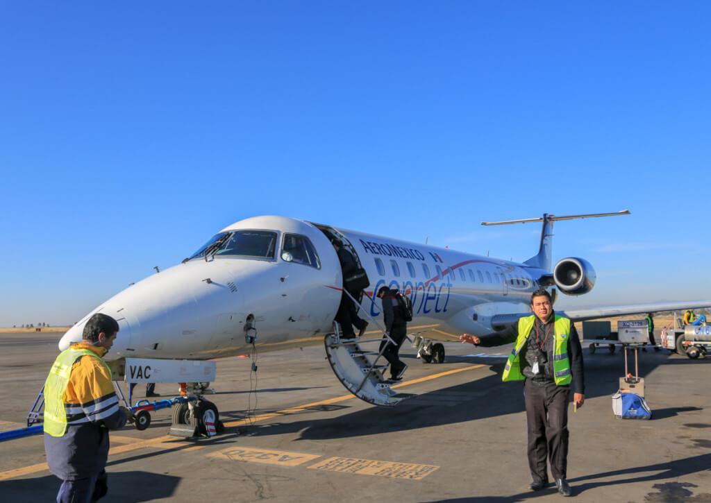 アコンカグア登山 メンドーサ空港に到着