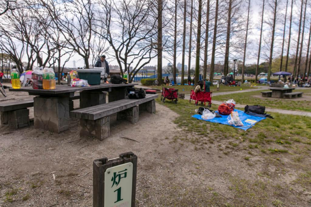 庄内緑地公園ピクニック広場