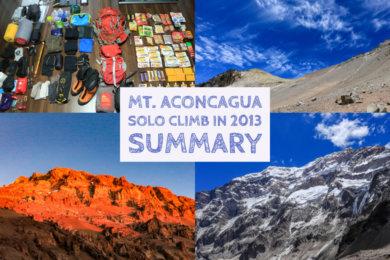 アコンカグア登山まとめ
