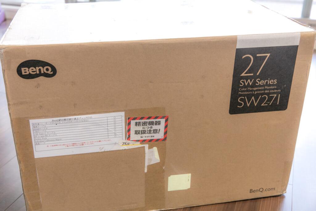 BenQ SW271 外箱