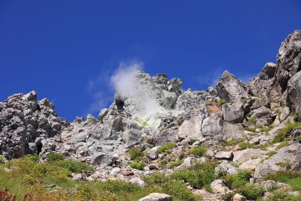 日本の活火山 焼岳