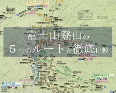 富士山登山ルート