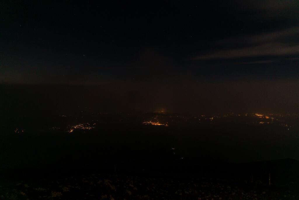 富士宮市の夜景