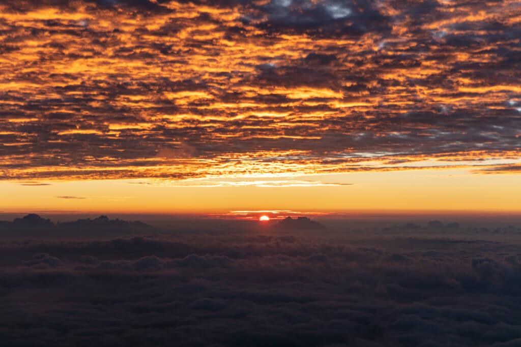 富士山 御来光3