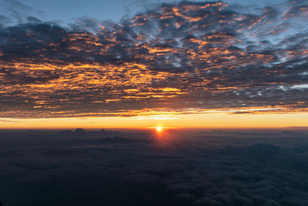 富士山 御来光4