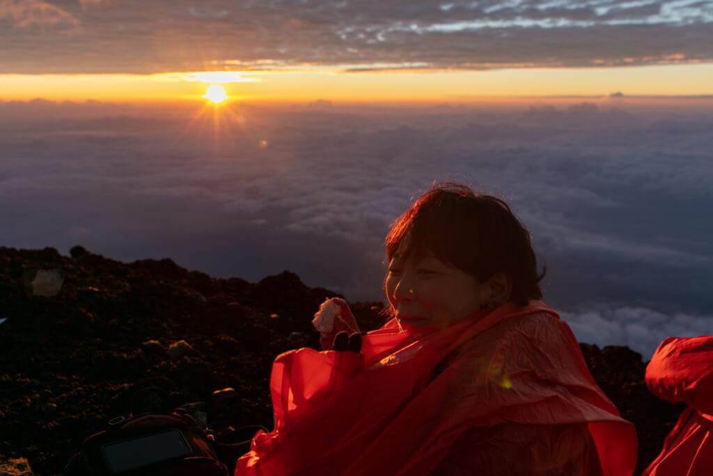 富士山 御来光6