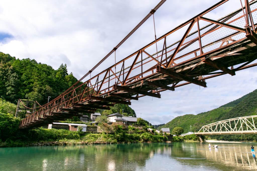 和歌山県新宮市 赤木川カヤック体験 橋
