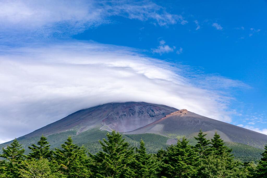 水ヶ塚公園駐車場からの富士山