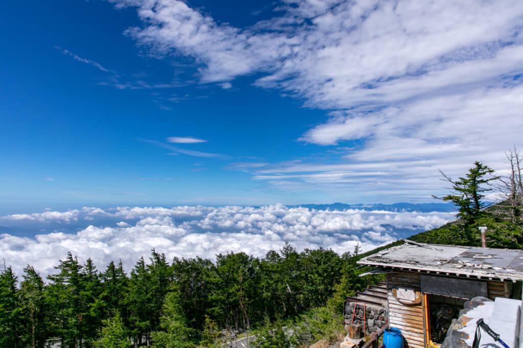 富士宮口五合目からの景色