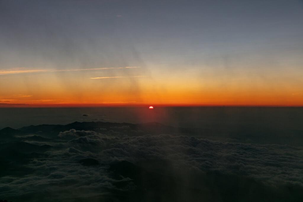 富士山富士宮口 御来光直前4