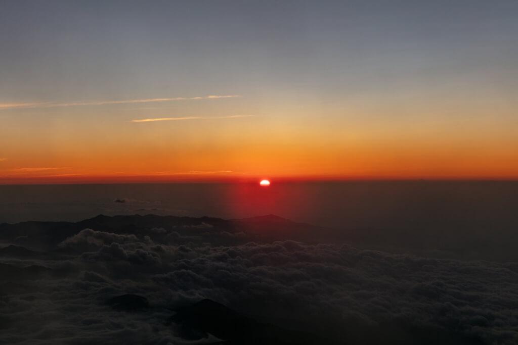 富士山富士宮口 御来光直前5