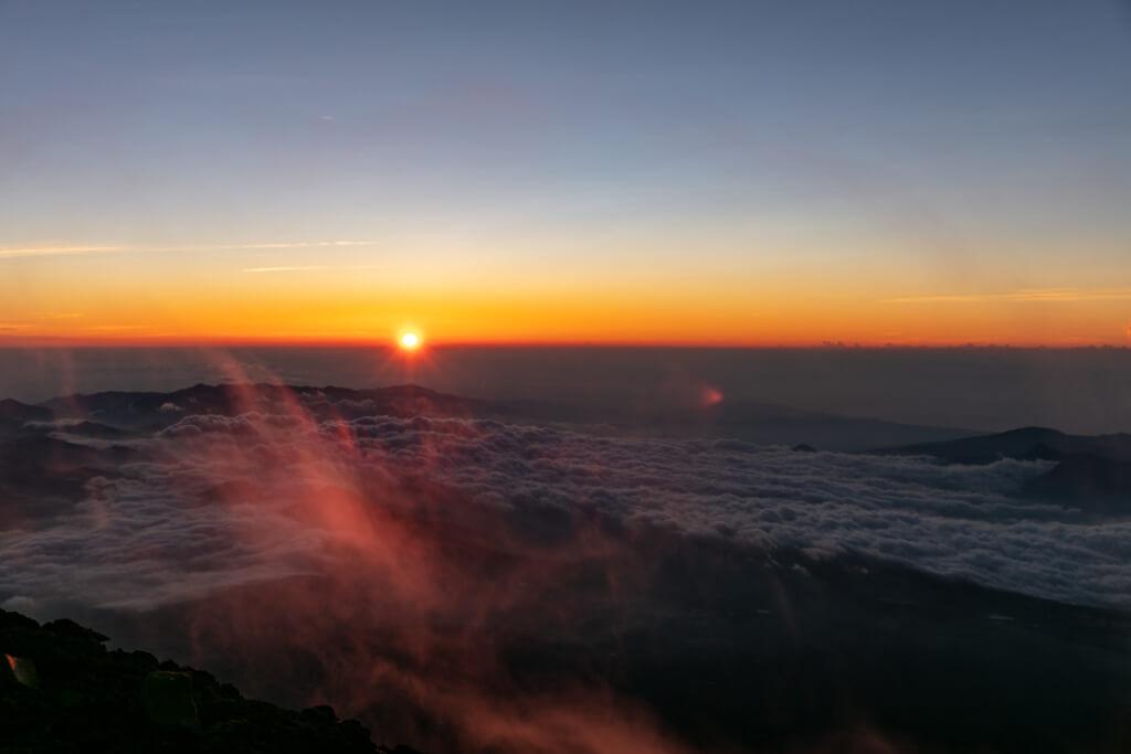 富士山富士宮口 御来光直前6