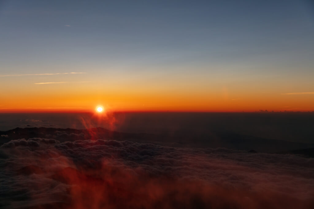 富士山富士宮口 御来光直前7