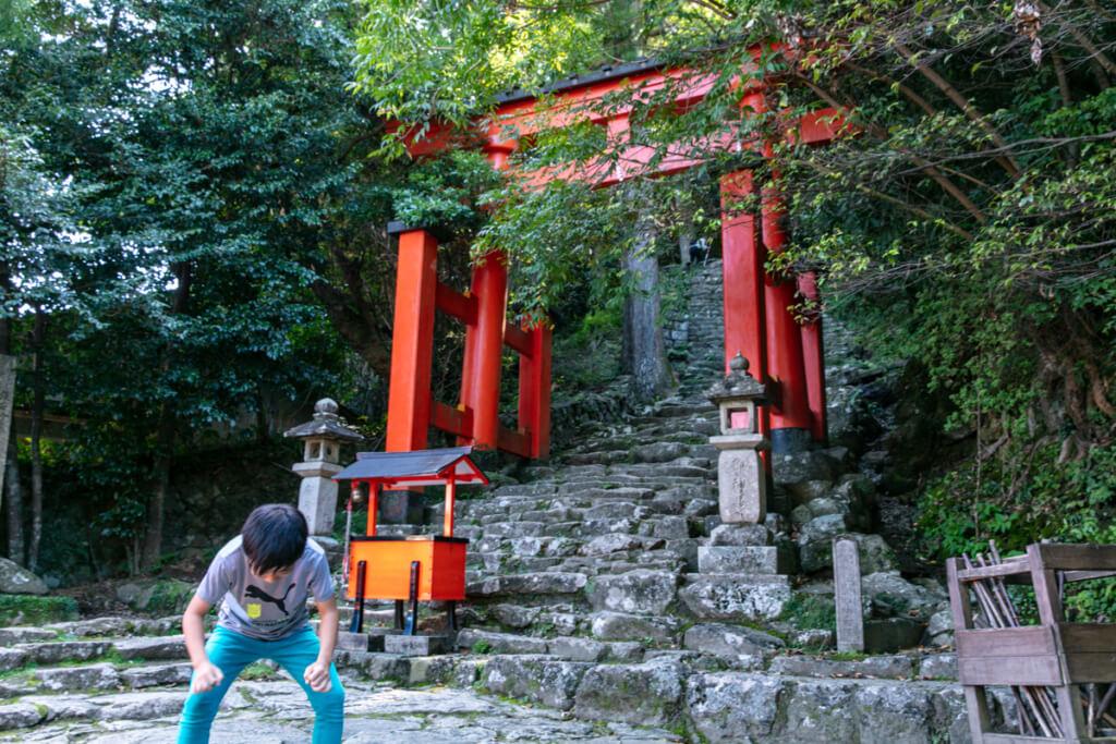 和歌山県新宮市 神倉神社 入口2