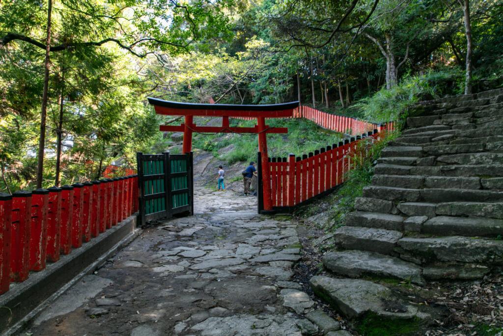 和歌山県新宮市 神倉神社 山頂手前