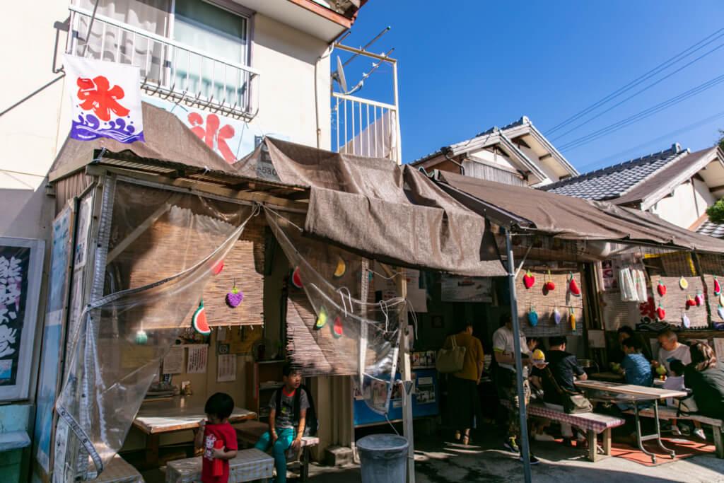 和歌山最強のかき氷屋「仲氷店」 外観2