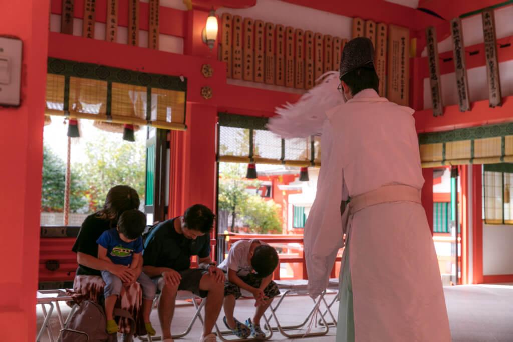 熊野速玉大社で御祈祷1