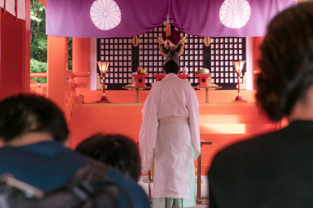 熊野速玉大社で御祈祷3