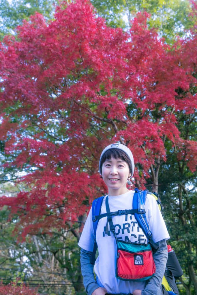 高尾山 山頂の紅葉