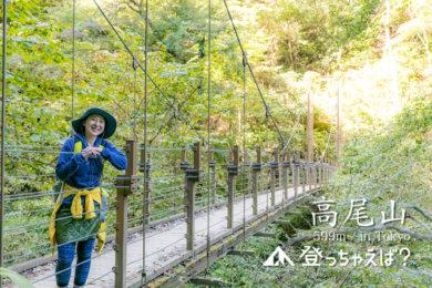 高尾山 4号路 みやま橋