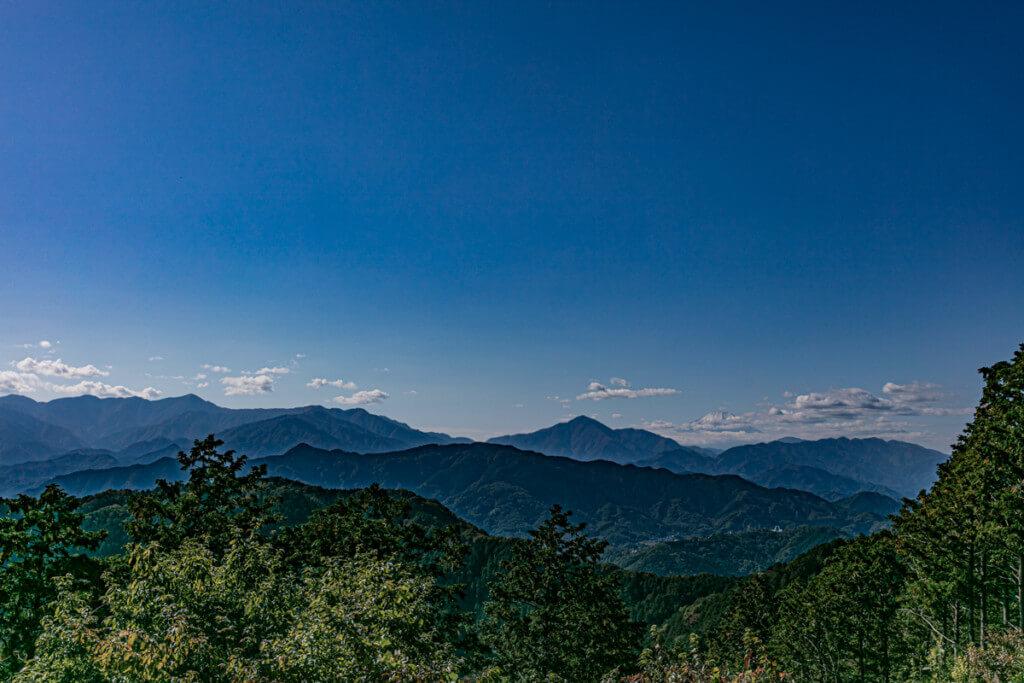 高尾山 もみじ台からの眺望