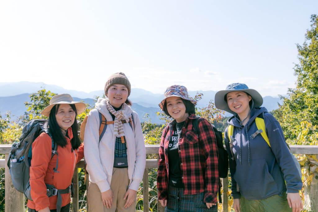 山フォトツアー高尾山 参加者