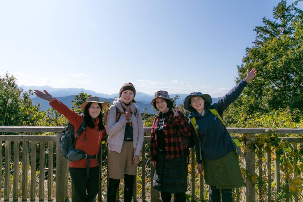 高尾山 一丁平 展望台