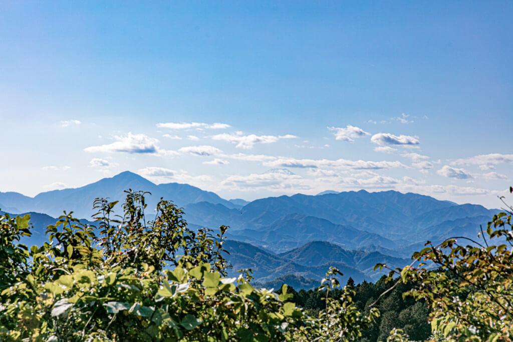 高尾山 一丁平 展望台からの展望