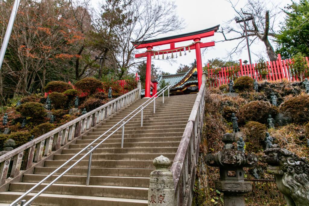 高尾山 薬王院の階段