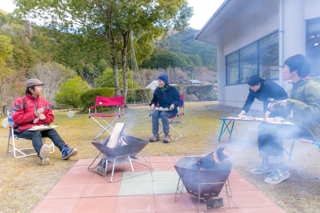 奥伊勢フォレストピア宮川山荘でピクニックランチ