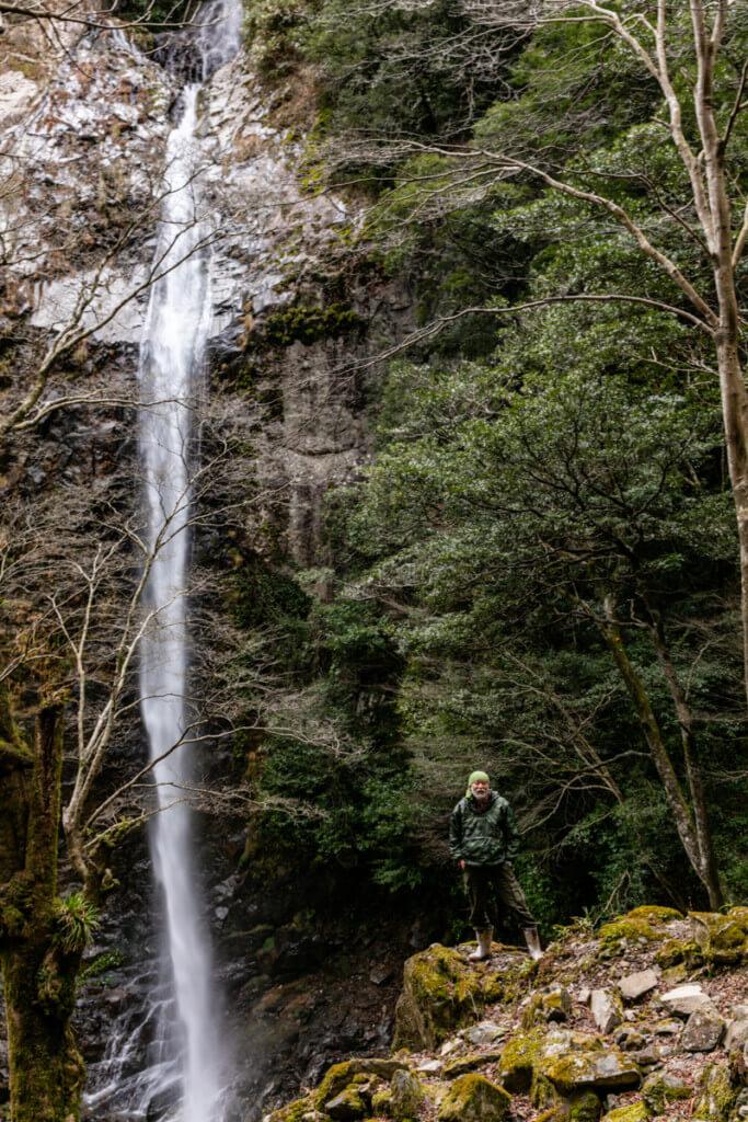 六十尋滝と仙人