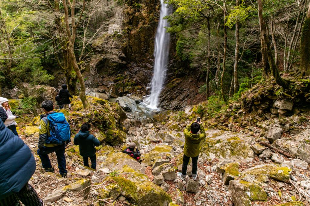 六十尋滝とブロガー
