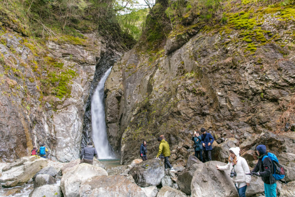 三重県大台町 無名の滝