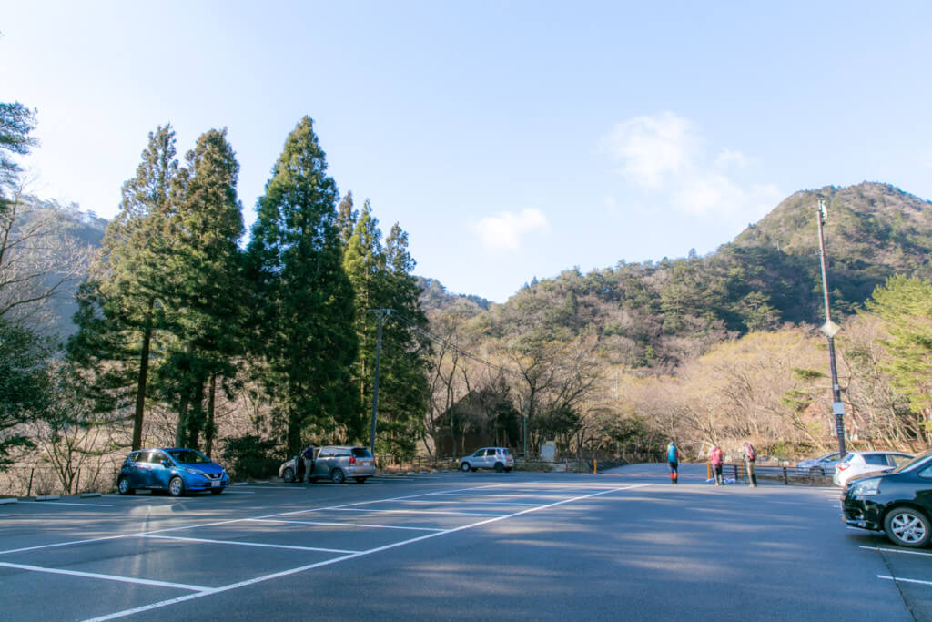 御在所岳 無料駐車場