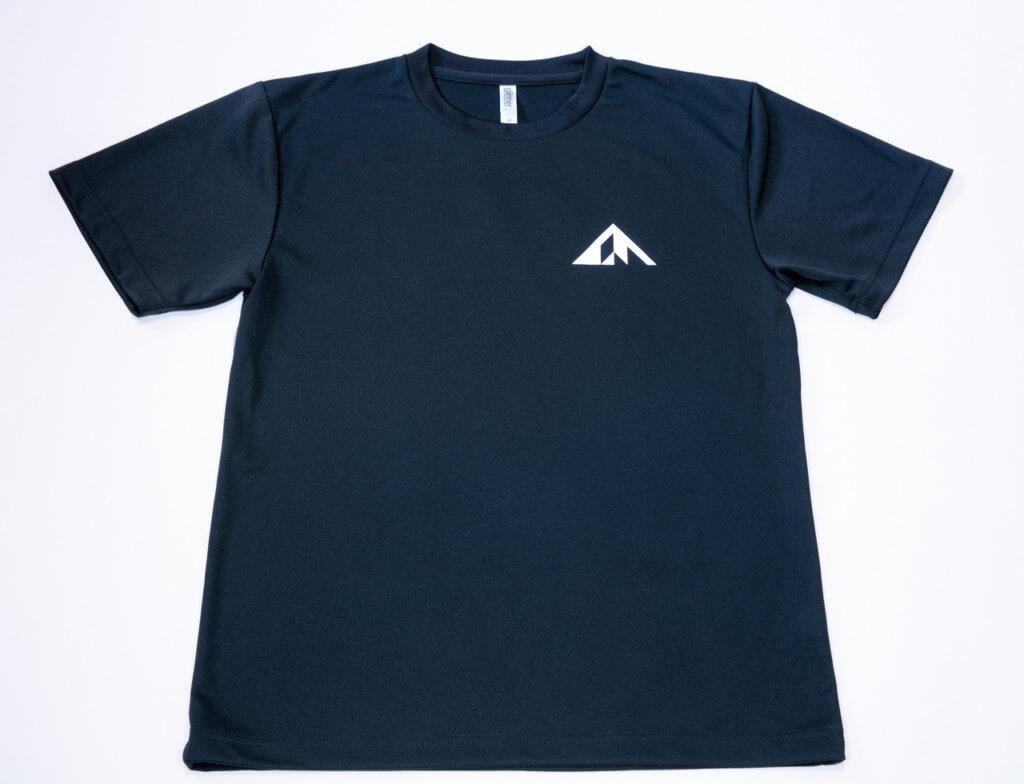 登っちゃえば?Tシャツ 表