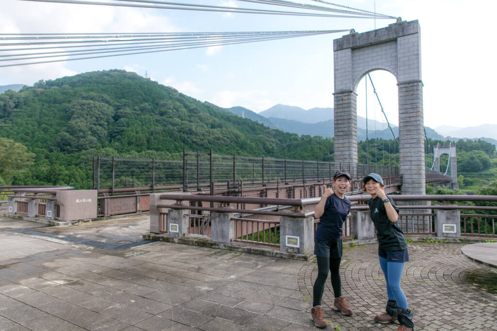 大倉 風の吊り橋