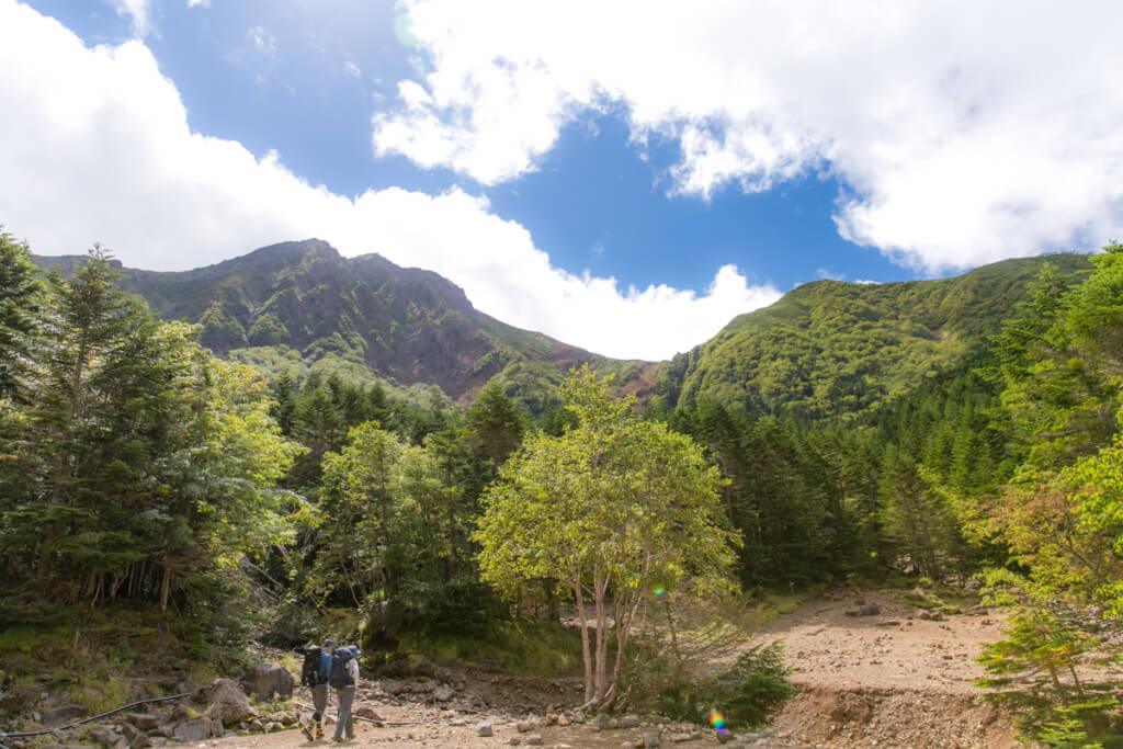 八ヶ岳 赤岳、阿弥陀岳