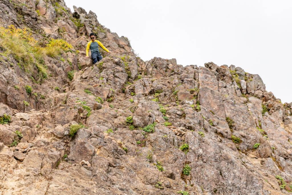 八ヶ岳 中岳のコル〜阿弥陀岳