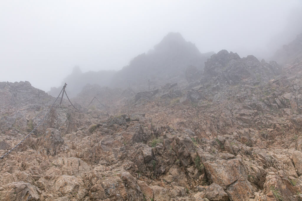 八ヶ岳 中岳〜赤岳