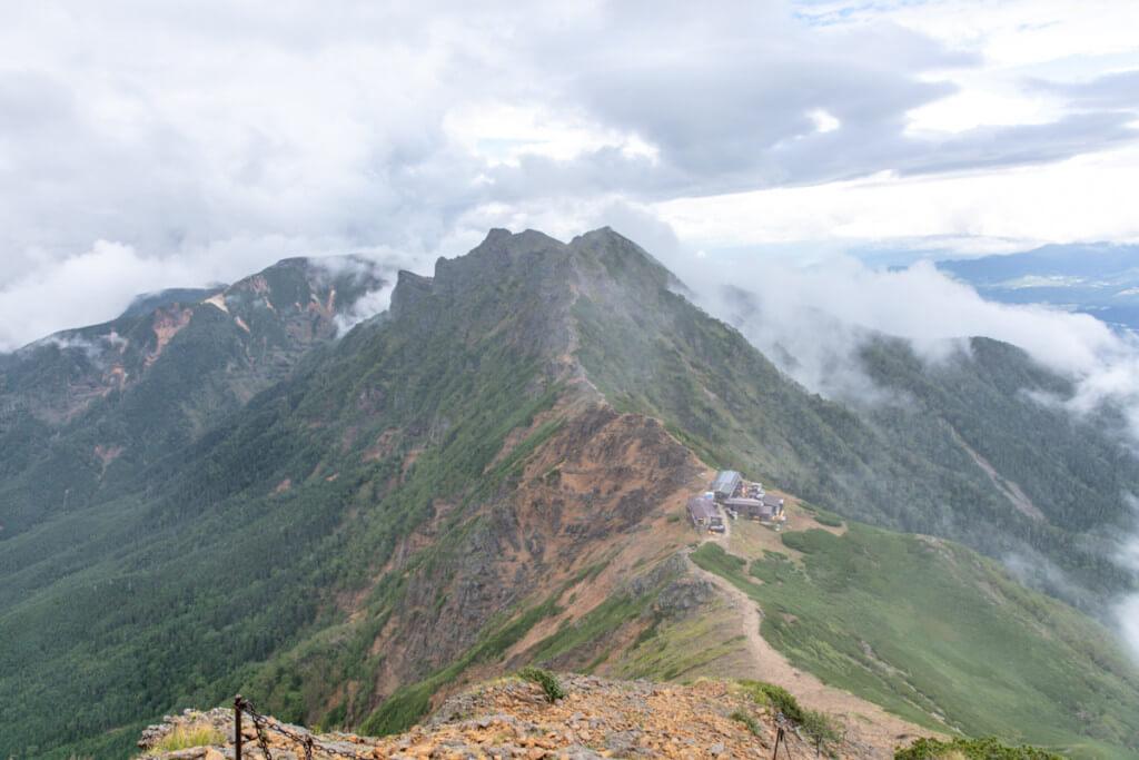 八ヶ岳 赤岳天望荘
