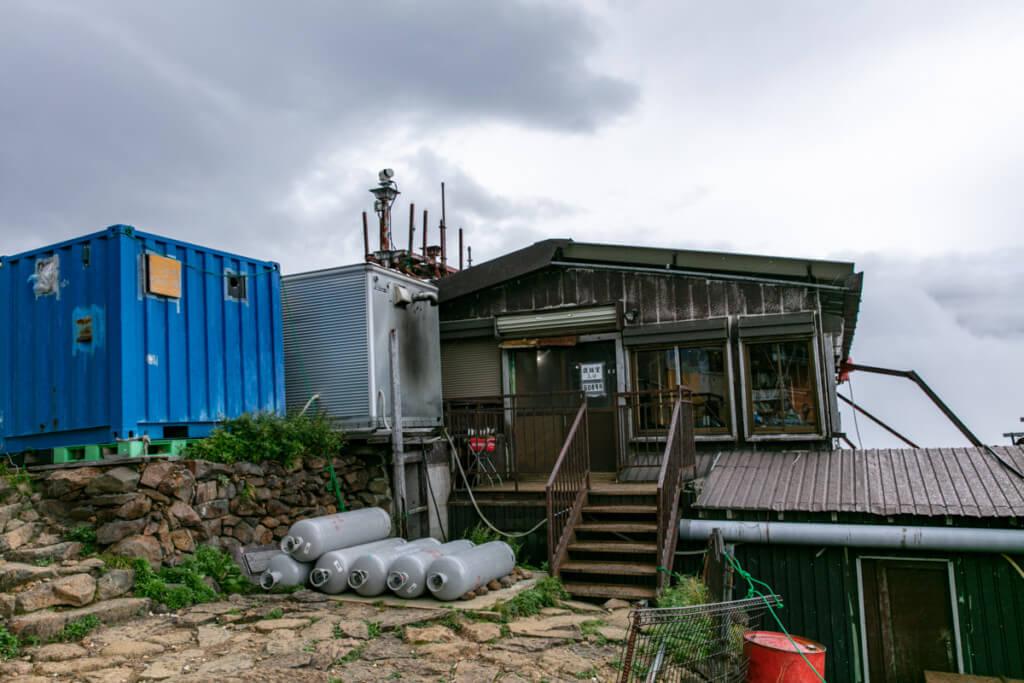 八ヶ岳 赤岳天望荘 新館