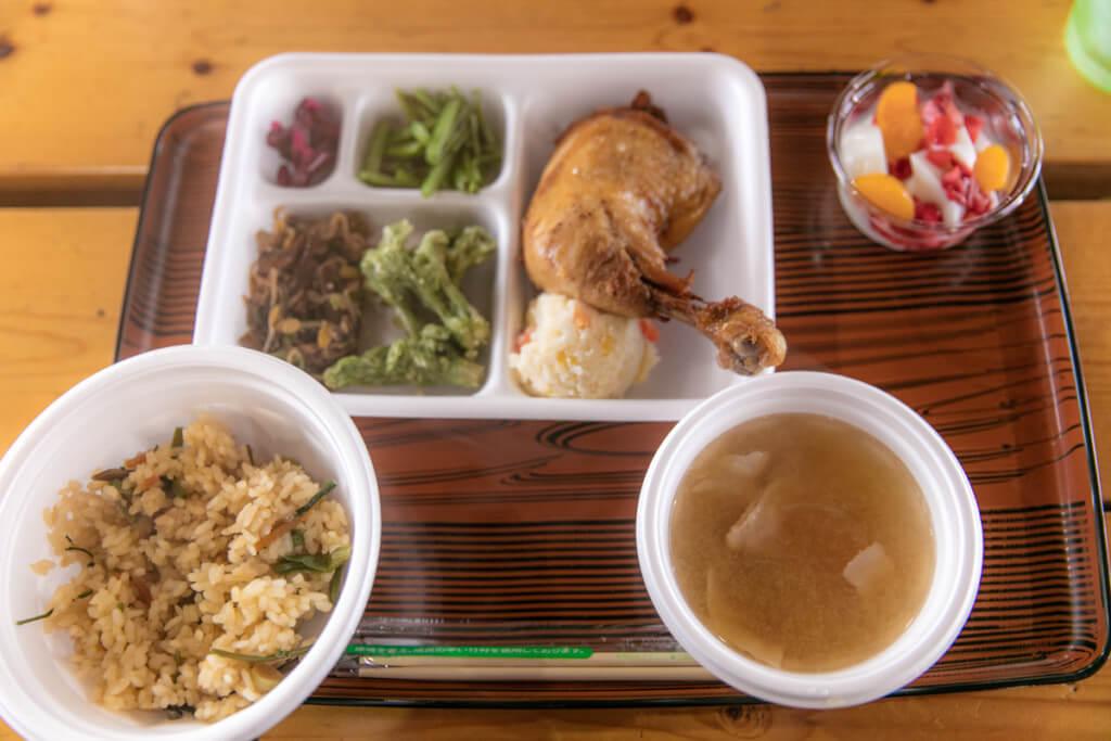 八ヶ岳 赤岳天望荘 夕食