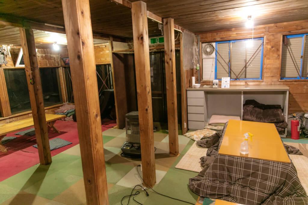 八ヶ岳 赤岳天望荘 食堂2