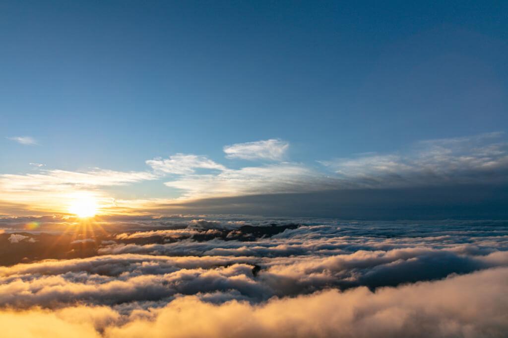 八ヶ岳 横岳からの御来光
