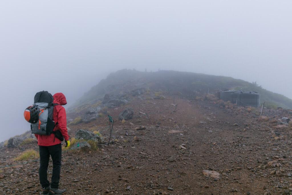 八ヶ岳 硫黄岳山荘〜硫黄岳