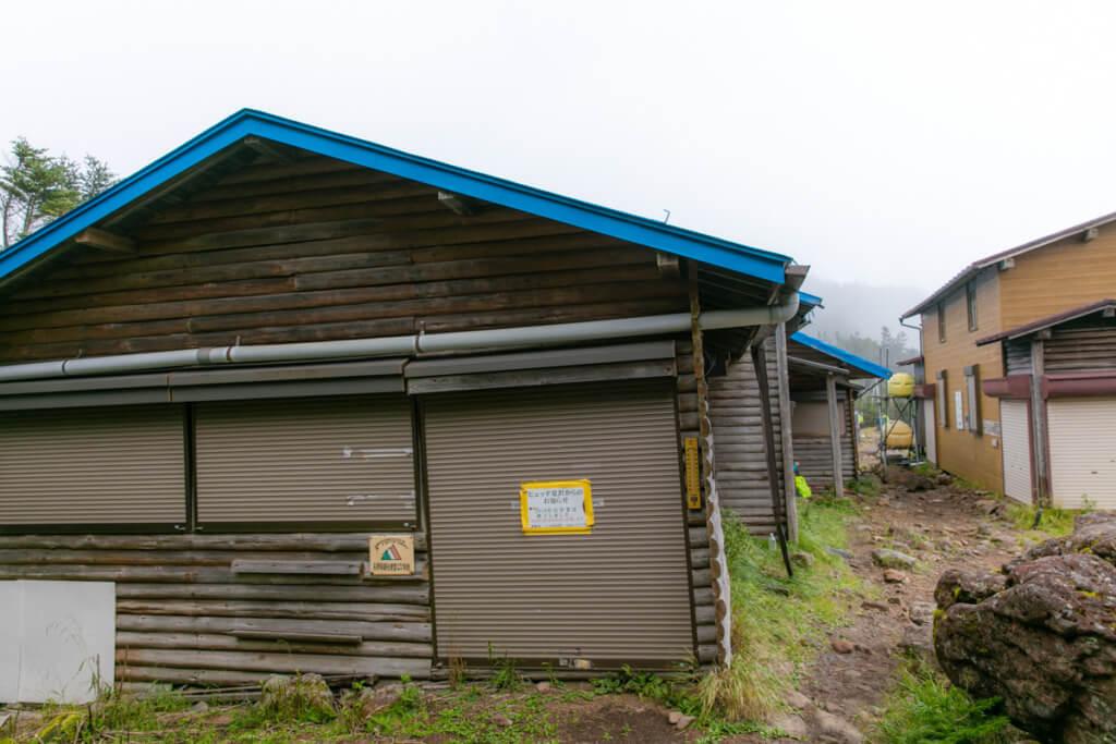 八ヶ岳 ヒュッテ夏沢