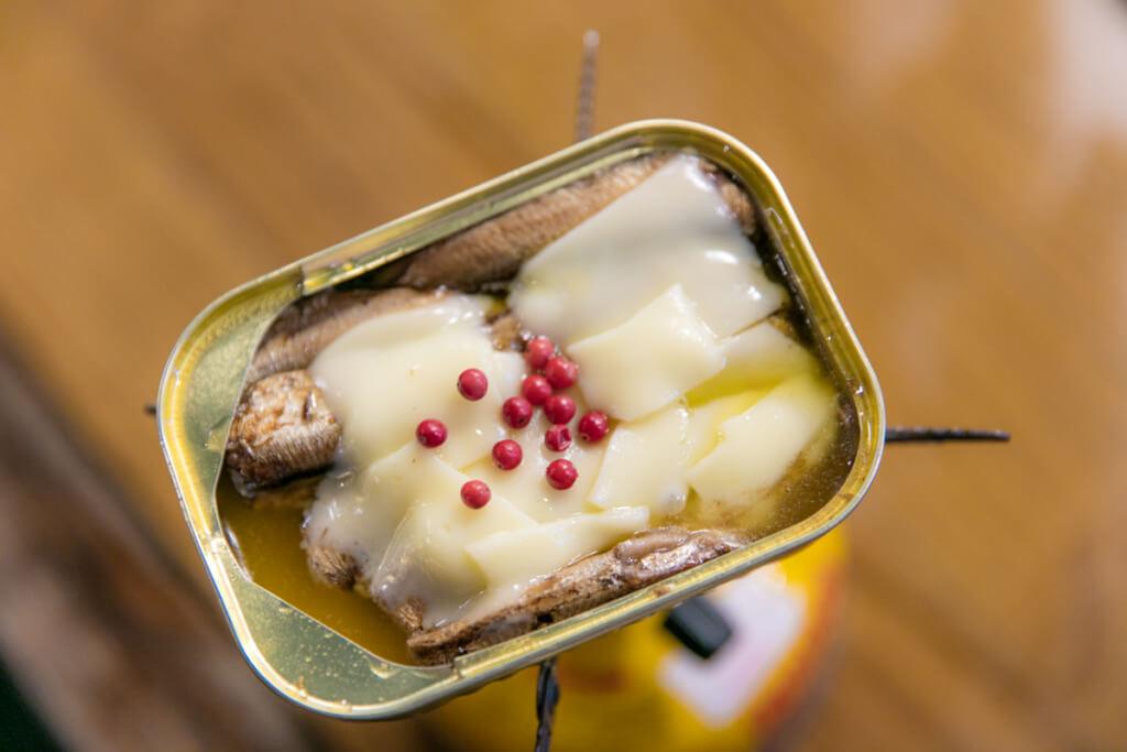 とろチーズのオイルサーディン