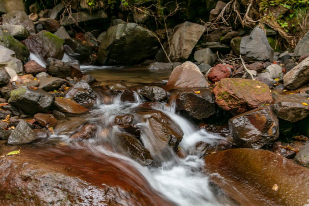 八ヶ岳 赤岳鉱泉近くのジョウゴ沢