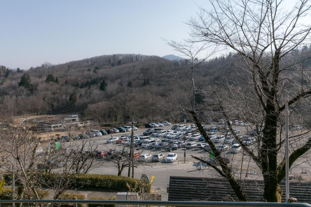 宝登山ロープウェイ 駐車場