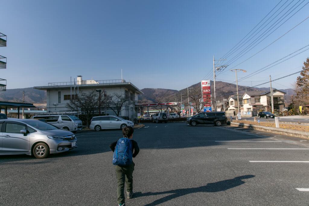長瀞町役場駐車場